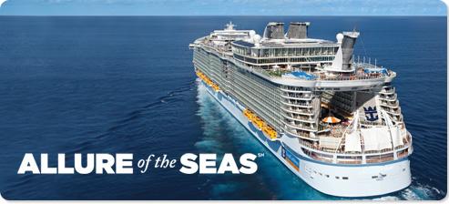 Самый большой круизный лайнер в мире  - Allure of the Seas