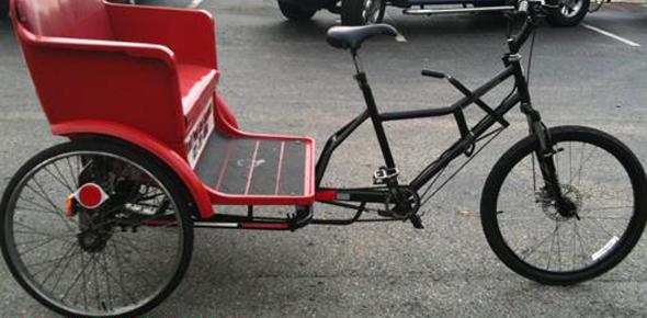 Идея бизнеса — велотакси