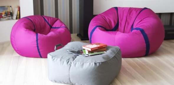 Идея бизнеса – изготовление бескаркасной мебели